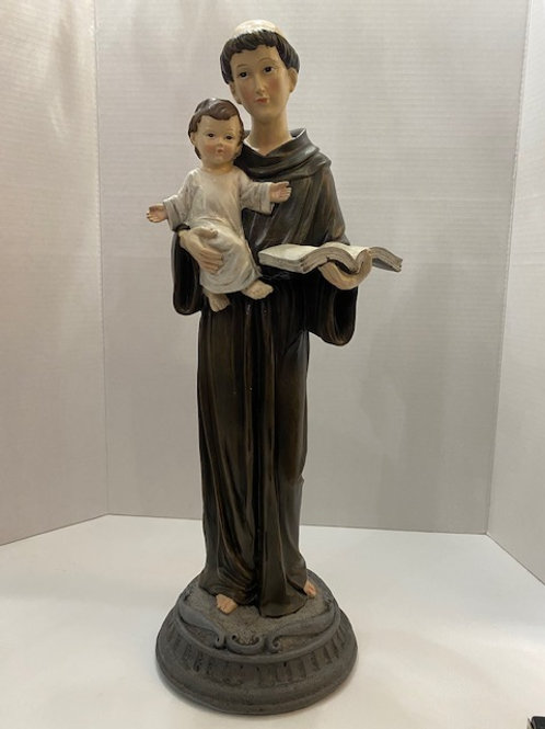Antique St. Francis Statue 19 inches