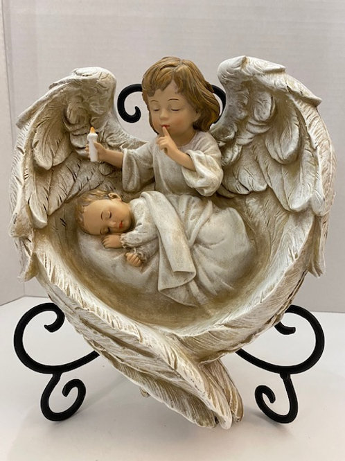 Hush-A-Bye Wall Plaque 11 inches