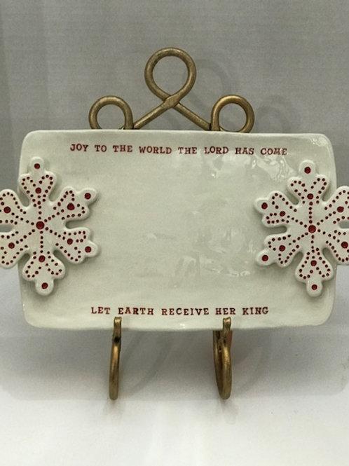 Joy to the World Platter