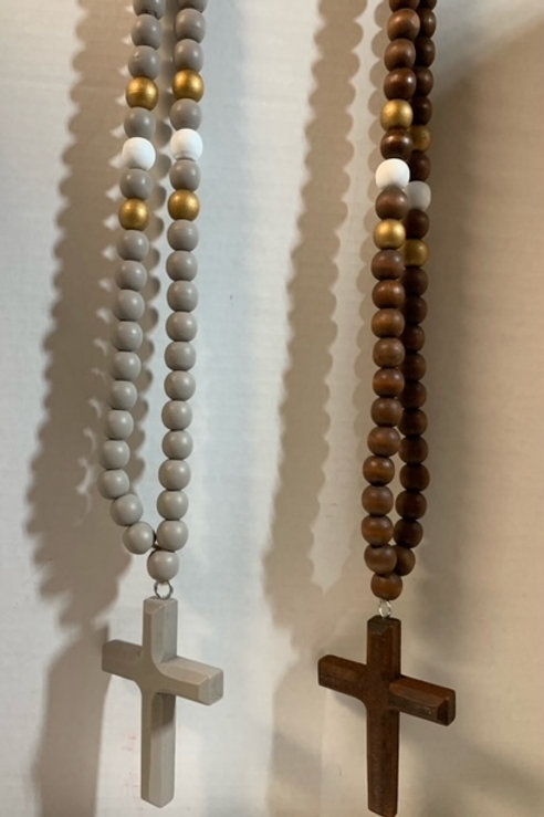 Wooden Blessing Beads