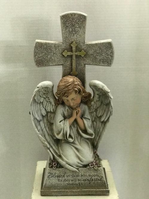Angel and Cross Matthew 5:4