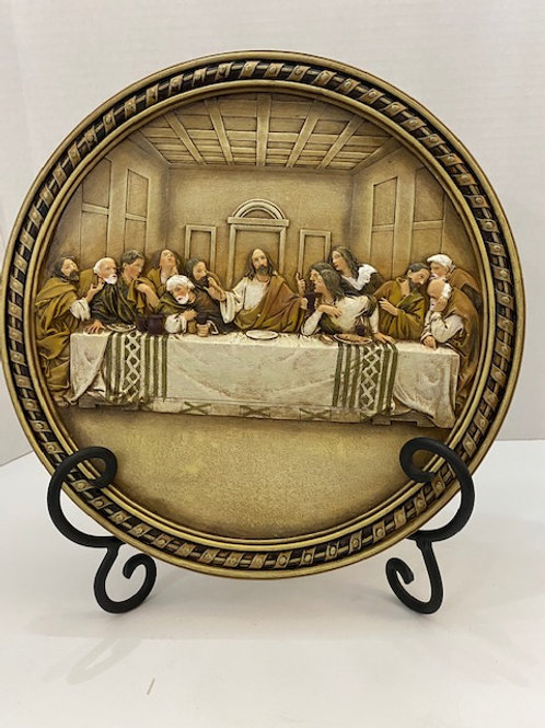 Last Supper Plaque 10 inches