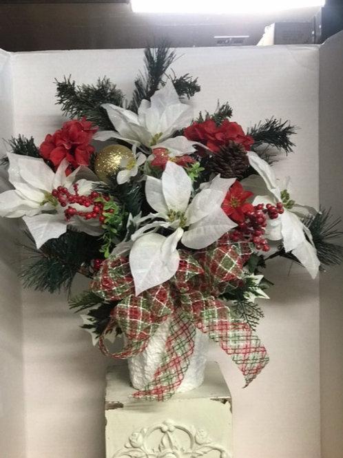 Christmas Grave Arrangements