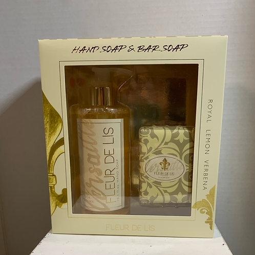 Lemon Verbena Hand Soap and Bar Soap