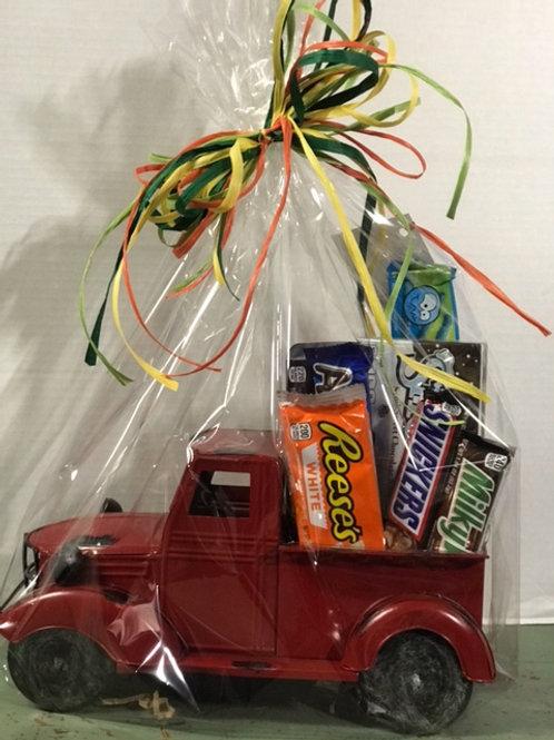 Vintage Truck Candy Bouquet
