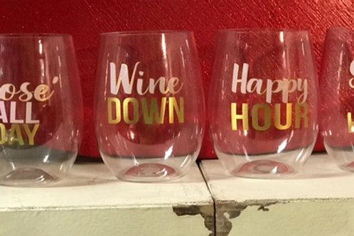 To Go Wine Glasses