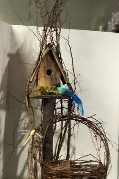Decorative Woodsy Birdhouse