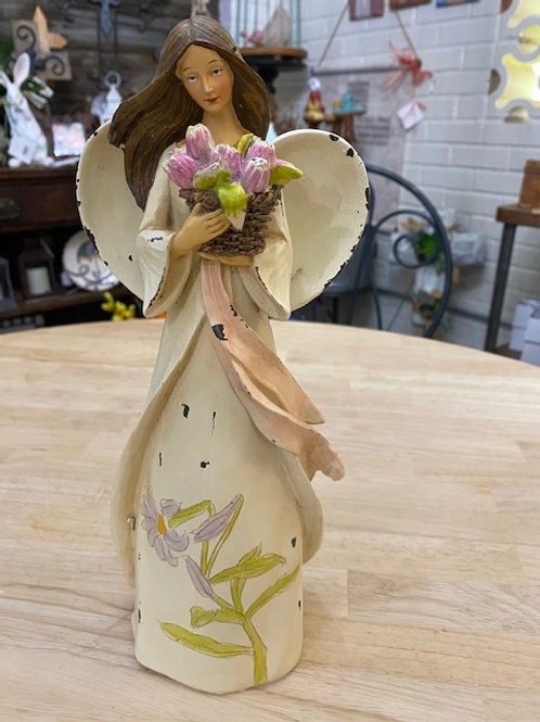 Floral Angel, 12 inches