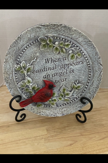 Memorial Cardinal Stepping Stone