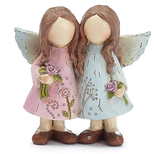 4 inch Twin Angels