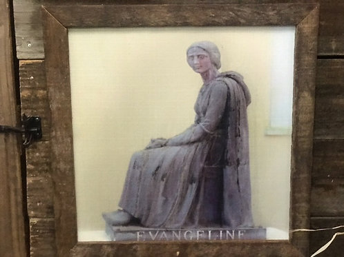 Canvas Print of Evangeline, 18 x 18