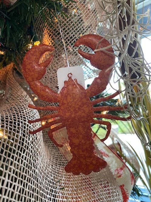 Louisiana Seafood Ornament 3 inches