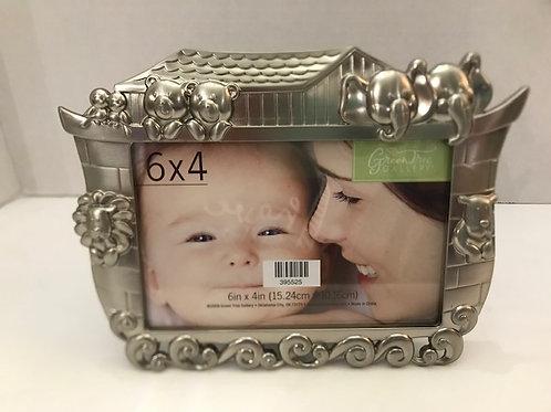 "Noah's Ark Frame, 6"" x 4"""
