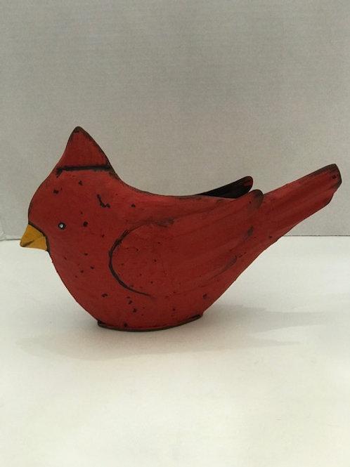 Metal Cardinal 8 inches