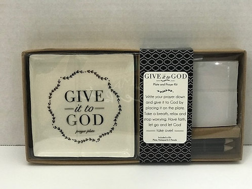 Give It To God Prayer Plate