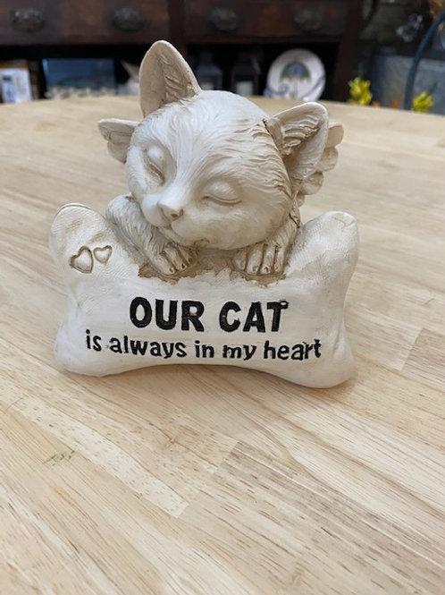 Cat Memorial, 6 inches