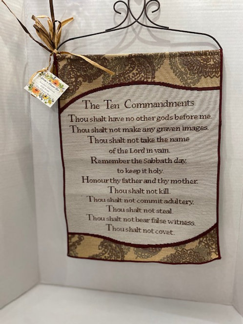 Ten Commandments Scroll