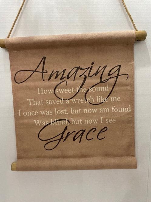 Amazing Grace Scroll