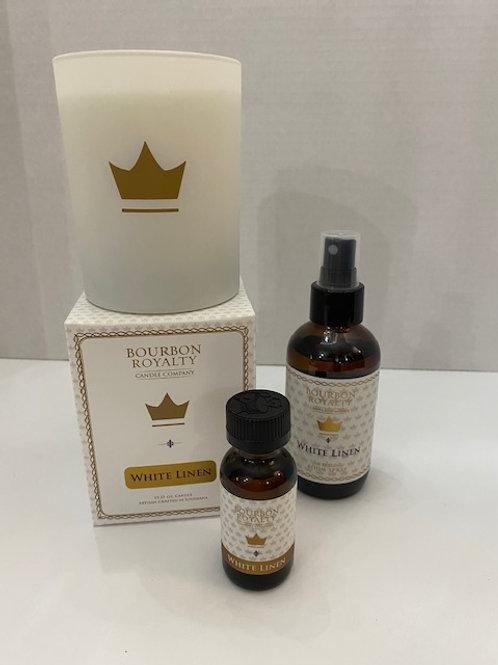 Bourbon Royalty, White Linen