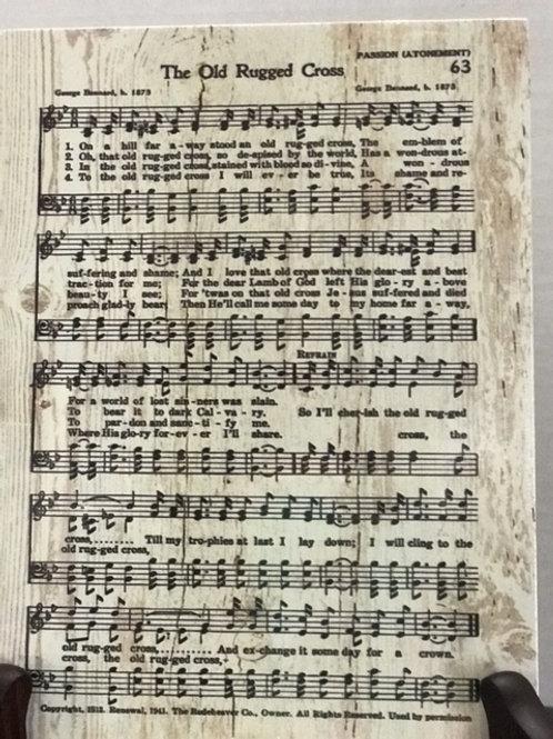 Song Wood Blocks,5 x 7