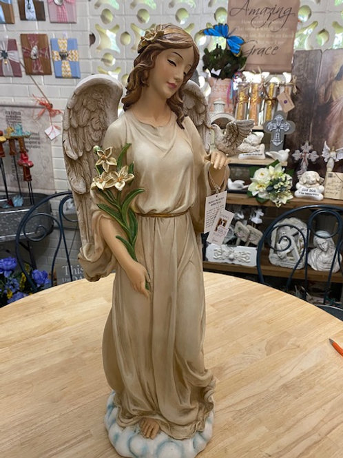 Angel with Dove, 24 inches