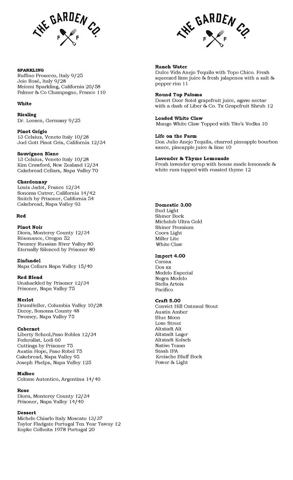 Round Top Wine List Show 10 2020 updated