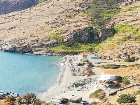 A zonzo per Andros