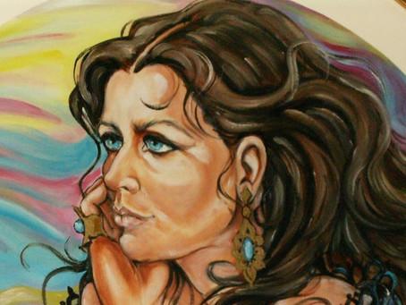 Rosanna Maffeo: quando l'arte ha lo sguardo azzurro
