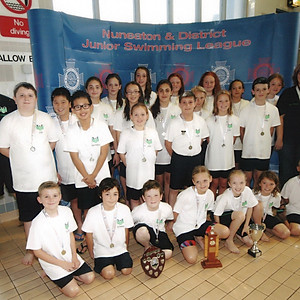 Nuneaton & District Junior Swimming League - Division 3 Final 2014