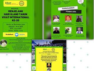 Perayaan HUT VIVAT Internasional di Indonesia