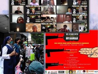 Aksi Solider Dengan Masyarakat Myanmar-Krisis Kemanusiaan