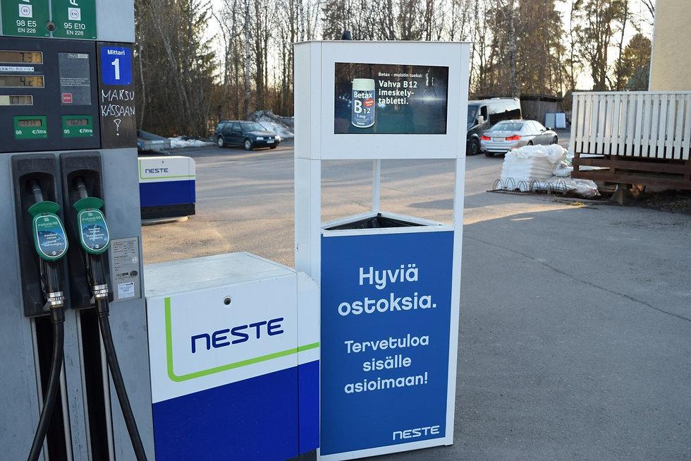 Eko-näyttö / Neste