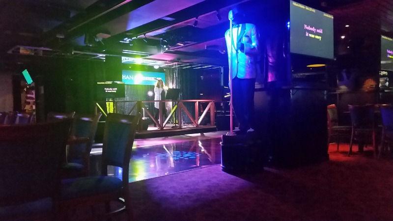 Audiovisuaaliset kokonaisuudet - karaokekellari, Helsinki