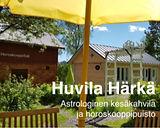 Astrologinen kesäkahvila ja horoskooppipuisto Huvila Härkä