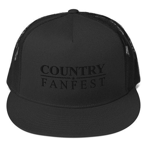 2021 CFF Black - Trucker Cap