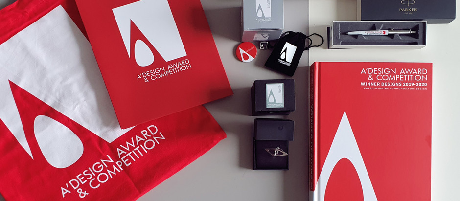 Goodies from the A'Design Awards