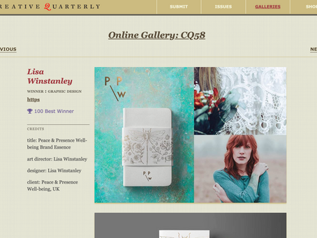 Creative Quarterly 58 is out and P&PW is featured!