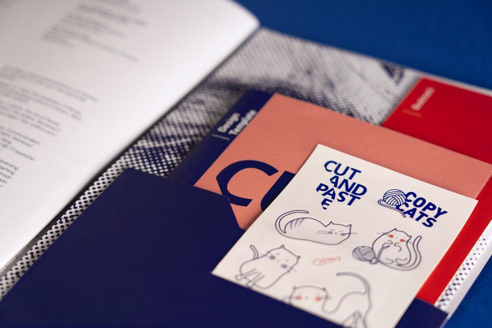 Cut & Paste Booklet (Back Folder)