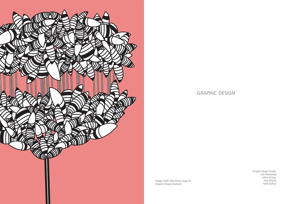 Radiate: Graphic Design Spread