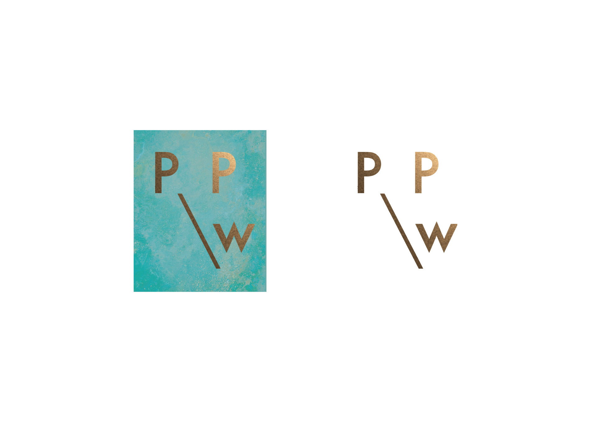 P&PW Logo (with and without bg)