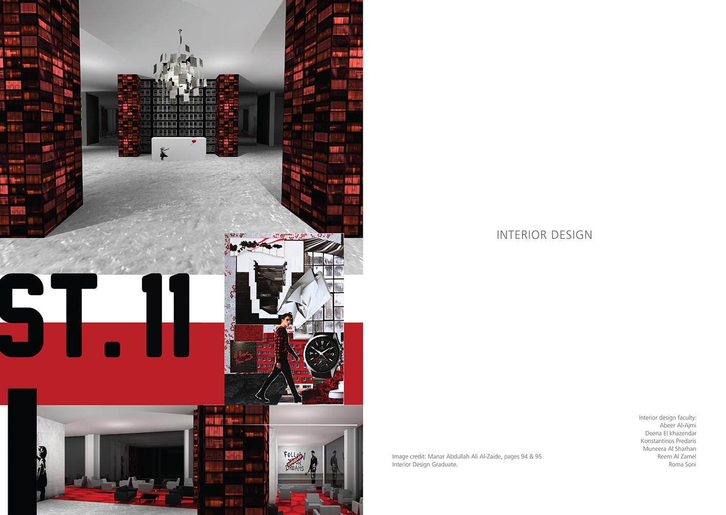 Radiate: Interior Design Spread