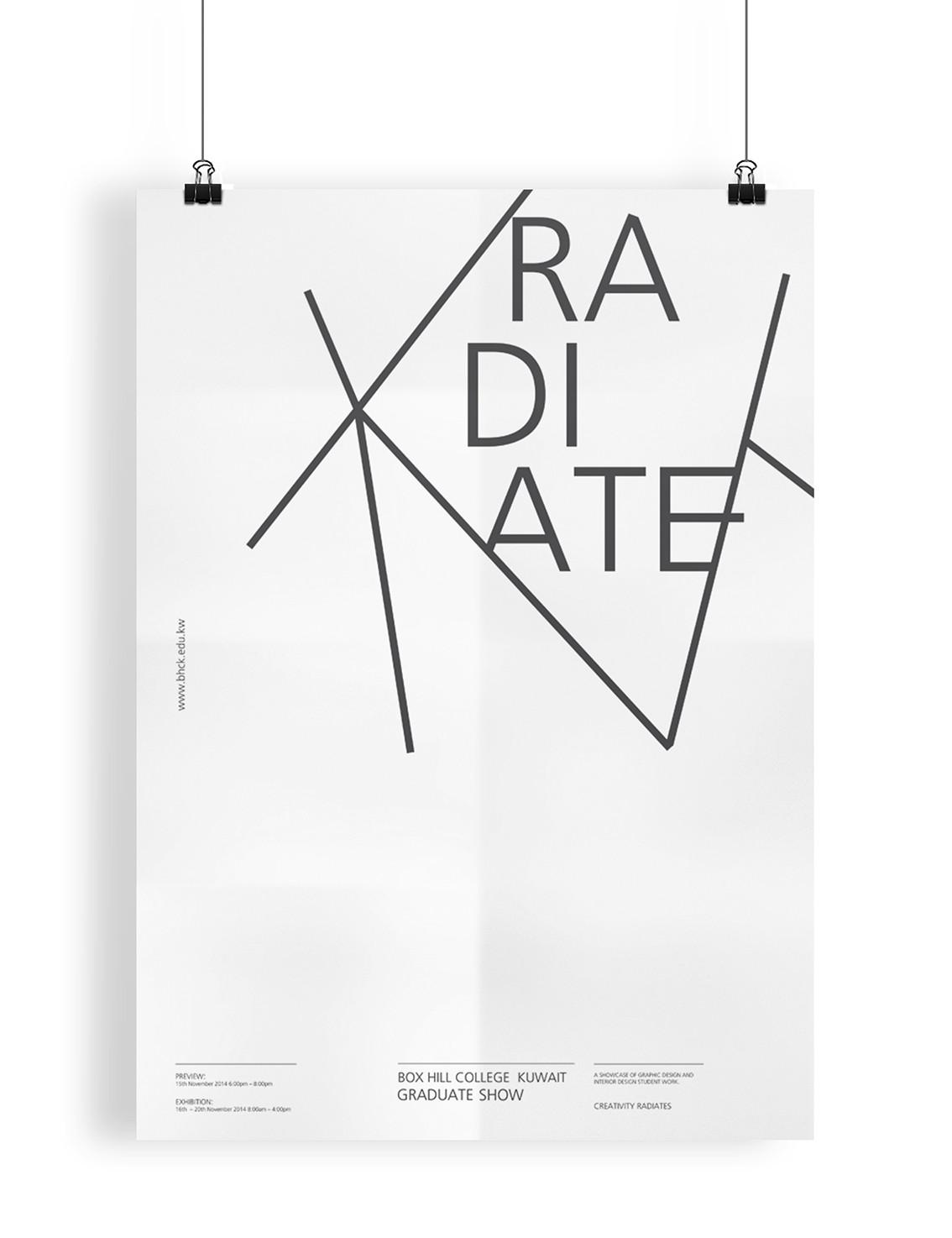 Radiate Poster