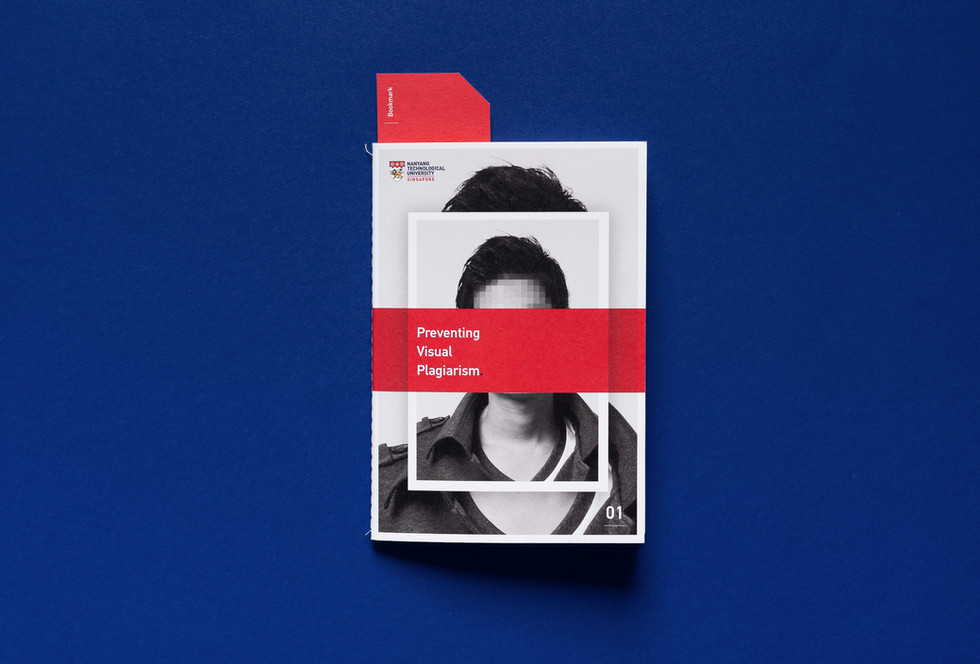Cut & Paste Booklet with Bookmark