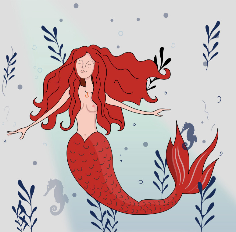 Alternative Mermaid Colour
