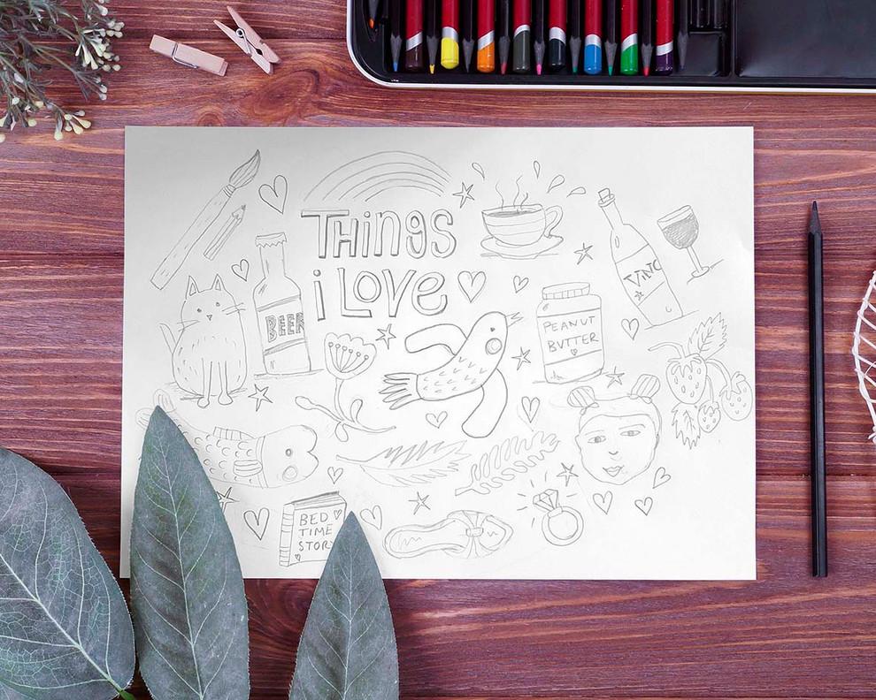 Things I Love Sketch