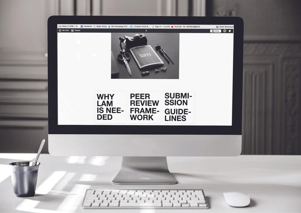 LAM Web Mockup