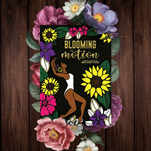 Blooming in Motion Coloring Book