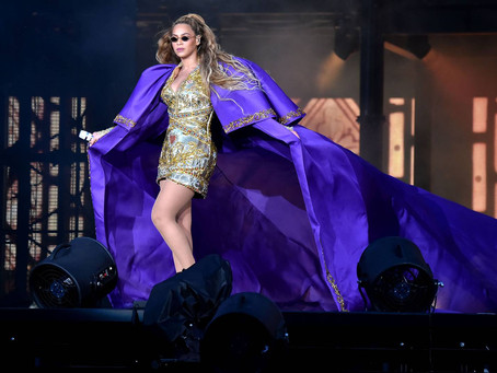Beyonce Slays & delivers iconic OTR2 style!
