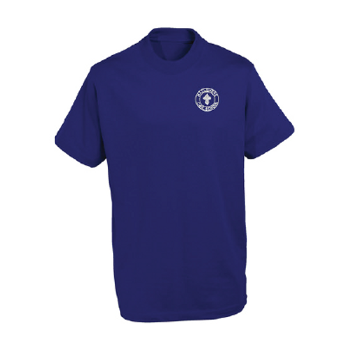 School Branded PE Shirt