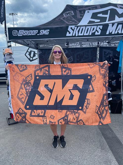 Splattered SMG flag
